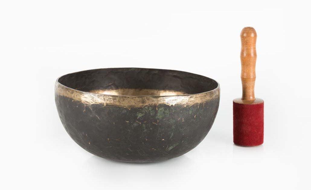 Cuenco tibetano antiguo